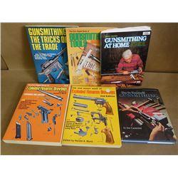 ASSORTED BOOKS ON GUNSMITHING
