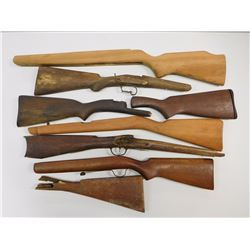 ASSORTED WOODEN STOCKS
