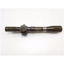 SNIPER SCOPE MARKED TEL STG NO 32 MKIII FOR A LEE ENFIELD