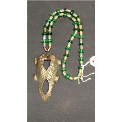 Hudson Bay Fur Trading Co Beaded Necklace With