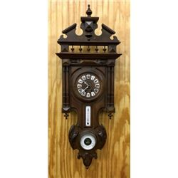 Antique German Wall Clock With