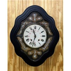 French Picture Frame Clock 8 Day Spring