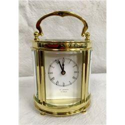 8 Day 15 Jewel Carriage Clock