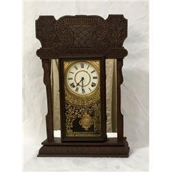 Fancy Shelf Clock 8 Day Time And Strike