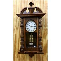 Igraham 8 Day Time & Strike Clock