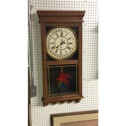American Store Regulator Wall Clock With