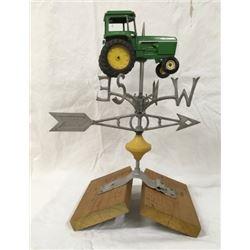 Robbins Weather Vane With John Deere Tractor