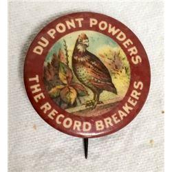 Dupont Powders Pin Back