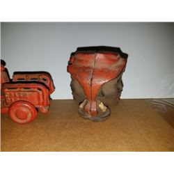 Pair Early 20th Century Cast Iron Toys
