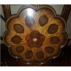Very Unusal Decortive Board With Oyster Inlays