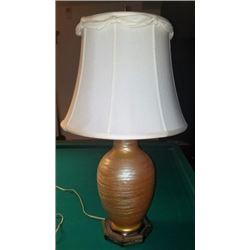 V Durand Treaded Lamp