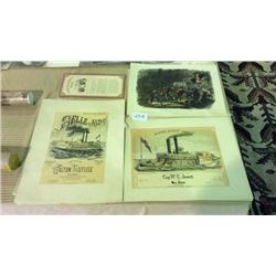 3 Antique Lithos