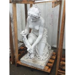 Life Size Carved Marble Statue