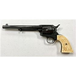 Colt Saa Revolver Cal 45 Date 1876 Custom Engraved
