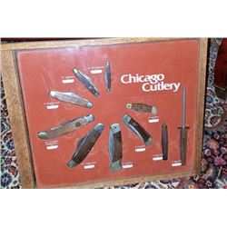 Chicago Cutlery Retail Display 1979
