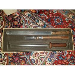 Chicago Cutlery Carving Set Crica 1980 New Cond