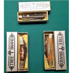 Set Of 3 Boker Tree Brand Knives