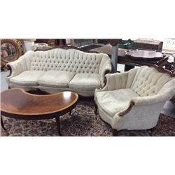 French Sofa And Chair