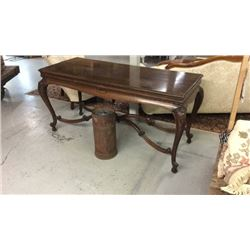 Antique Folding Dining Table Seats 8