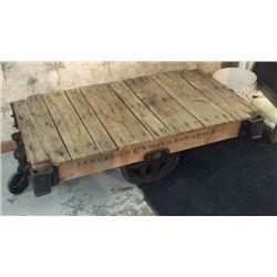 Antique Industrial Cart