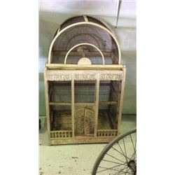 Early Antique Bird Cage