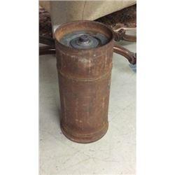 Antique Cylinder Safe