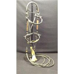 Montana Prison Made Horse Hair Bridle And Split
