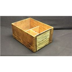 Nor Pac Ry Co Dovetail Box