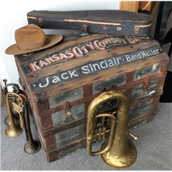 Jack Sinclair Band Master Trunk