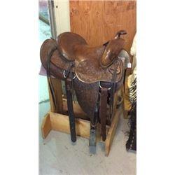 Benny Binion Estate Saddle