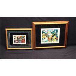 Pair Of Kachina Dancer Prints By G Morelli