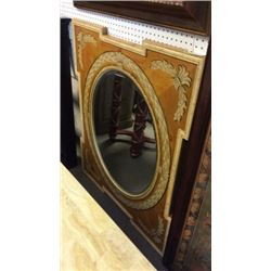 Ardley Hall Hand Painted Pine Mirror