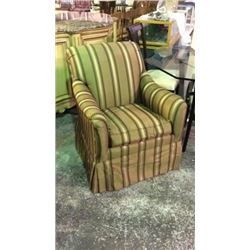 Century High Back Occasional Chair with High End