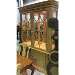Drexel Heritage Bookcase/Curio 88''T x 64''W