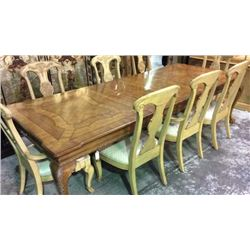 Century Oak Inlaid Ball and Claw Dinning Room