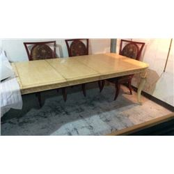 FFDM Hand Carved Dinning Room Table 78''L x