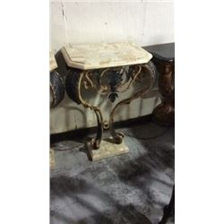 Maitland Smith Bronze and Cast Iron Console Wall