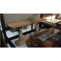 Drexel Heritage Console / Sofa Table Solid Oak