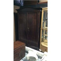 Century 2 Door Wardrobe with Clothes Rod