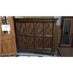 Century Closed Bi-Fold Doors Book Case or Media