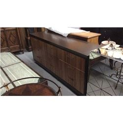 Century 9 Drawer Dresser with Walnut Veneers