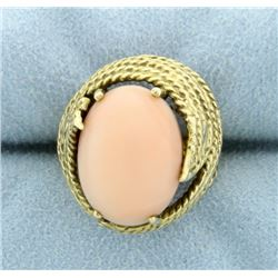 Pink Coral Ring