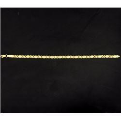 7 Inch X's and O's Bracelet