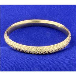 14K Bangle Bracelet