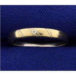 Diamond Promise Band Ring