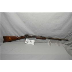 "Winchester Model 62 .22 LR Cal Tube Fed Pump Action Rifle w/ 23"" bbl [ traces of blue in protected a"