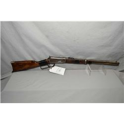 "Winchester Model 1894 .38/ 55 Cal Lever Action Saddle Ring Carbine w/ 20"" round barrel full mag [ bl"