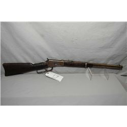 "Winchester Model 1892 .44 WCF Cal Lever Action Saddle Ring Carbine w/ 20"" round barrel full mag [ tr"