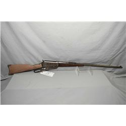 "Winchester Model 1895 .303 Brit Cal Lever Action Rifle w/ 28"" round bbl [ traces of blue in protecte"