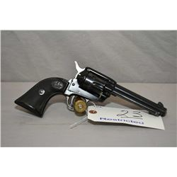 Colt Model Frontier Scout .22 LR Cal 6 Shot Revolver w/ 120 mm bbl [ blued finish, green high lighte